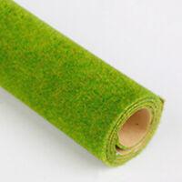 4 Pcs 25*25cm Grass Mat Paper Model Train Layout Green Grass Mat Scale Scenery