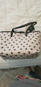 Coach Gallery Tote With Heart BEE Print - Im/Chalk Multi (F25820)