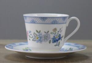 Royal Doulton Coniston Kaffeetasse Tasse  mit Unterteller/Untertasse TOP