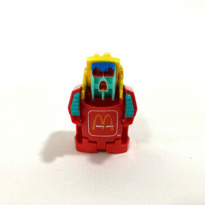 1990 McDonald's French Fries Changeable Transformer Happy Meal Toy Rare