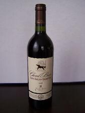 VINS FINS , BORDEAUX SAINT EMILION GRAND CRU , CHEVAL BRUN 2006 .