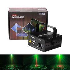 SUNY La iluminación láser RG 24 Gobos proyector LED DJ de la etapa del disco Luz