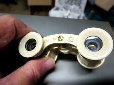 Opera Style White Binoculars