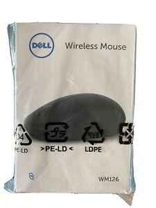 Dell WM126- Souris - optique - 3 boutons - sans fil - 2.4 GHz - récepteur sans f