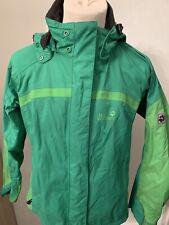 Womens Smart Green Jack Wolfskin Texapore Coat/Jacket *UK Size 16*