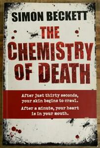 THE CHEMISTRY OF DEATH David Hunter #1 by Simon Beckett ~ Large SC 2007
