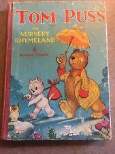 Tom Puss in Nursery Rhymeland (Marten Toonder)  1940's Hardback M&S Book