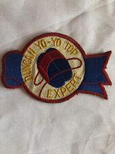 Vintage Rare  Duncan Yo-Yo Top Expert Shield Patch