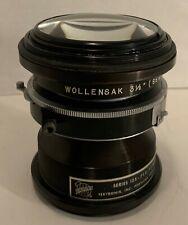 """Vintage Wollensak Oscillo-Raptar Camera Lens - 3 1/2"""" - 88mm - f1.4 - 1:1 Alphax"""