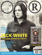 MAGAZINE OOR 2012 nr. 04 - JACK WHITE/KYTEMAN/RUFUS WAINWRIGHT/PHILIP GLASS
