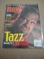 WWF RAW Magazine August 2000 Tazz Cover WWE