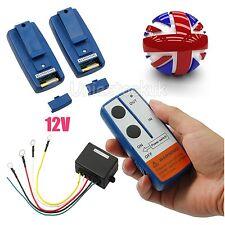 12V Wireless Winch Remote Control Kit 100FT 100'' / 30m For Car Jeep ATV 17000lb