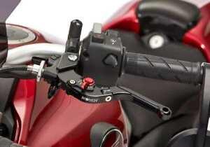 Protech Palanca Rojo/Negro para Yamaha YZF-R1 2009-2014 RN22 Ajustable + Klap