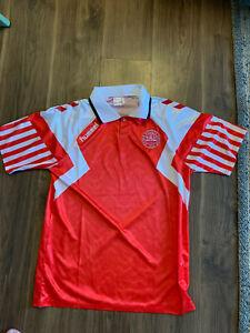 Denmark Football Soccer Shirt 1992 Large