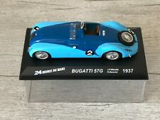 IXO ALTAYA LM Bugatti 57G #2 Winner 24h Le Mans 1937 Wimille Benoist 1/43
