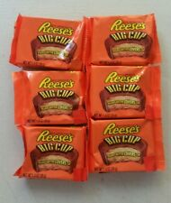 Reese's Reeses Big Cup x6 American Import Peanut Butter Chocolate RARE USA