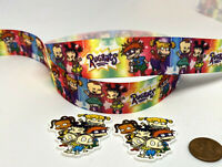 """Firefly TV Series Characters 1/"""" Wide Repeat Ribbon Sold in Yard Lots"""
