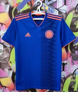 Colombia National Football Team 2018 Away Soccer Jersey Shirt Adidas Mens size M