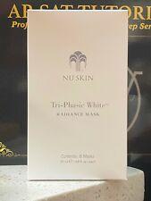 Nu Skin Tri-Phasic White Radiance Mask (8 Mask Pack) 20mL