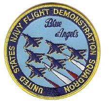 Aufnäher Abzeichen BLUE ANGELS / US Patch Kunstflug Kutte Sammler USA Top NEU