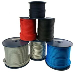 Quality Double Braid on Braid Polyester Mooring Yacht Docklines Marine Rope