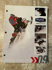 2009 Polaris Snowmobile Full Parts Apparel Accessories Dealer Catalog