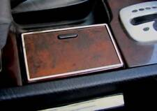 D Audi A8 D2 Chrom Rahmen für Getränkehalter - Edelstahl poliert