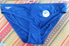 Speedo Navy Blue Bikinii bottoms nylon/spandex front lined Size L NWT