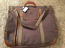 Ricardo Tan & Taupe Garment Bag, NWOT!
