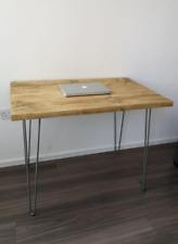 Rustic Handmade Wood Laptop Desk
