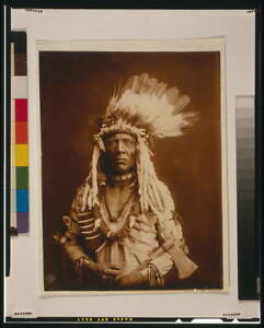 Photo:Weasel Tail--Piegan,Indians,Native Americans,c1900 5829
