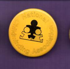 National Childminding Association  -  button badge 1990's