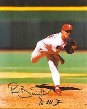 """Ricky Bottalico Autographed Philadelphia Phillies 8"""" x 10"""" Photo w/COA Cert."""