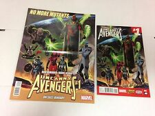Uncanny Avengers #1 2 3 4 5 2015 mini series Rick Remender Daniel Acuna