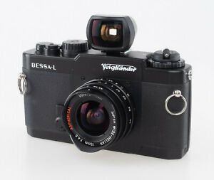 Voigtländer Bessa L + Heliar 4,5 15mm, analoge Kamera, gebraucht, Demo