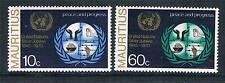 Mauritius 1970 25th Anniv of UN SG 425/6 MNH