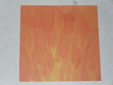 7 feuilles scrapbooking (théme: couleur orange )  (30,5X30,5cm)