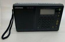 Grundig YACHT BOY YB 400 World Receiver AM FM Short Medium Long Wave WORKS!