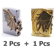 Zippo Gargoyle2 GD x 2Pcs + Amazon GD x 1Pcs