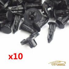 10x BUMPER PUSH CLIPS PLASTIC RIVET FASTENER FOR NISSAN 350Z INFINITI G35 FX35