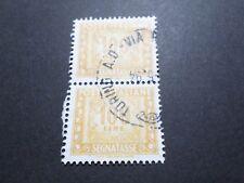 ITALIE ITALIA 1991, timbre TAXE 91 oblitéré, VF used TAX STAMP