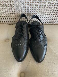 Wittner Shoe 37 - 'Erving' Leather Baroque Flat - Size 37