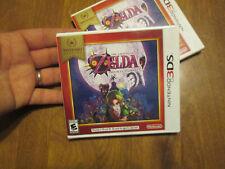 The Legend of Zelda Majora's Mask 3D NINTENDO 3DS SELECTS US EDITION SEALED