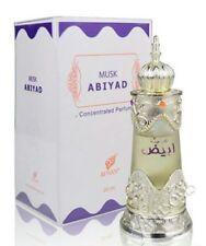 Afnan Musk Abiyad 20ml Perfume Oil Attar ITR Unisex Dubai Perfumes AU SELLER