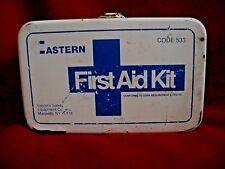 First Aid Kit, Eastern Safety Equipment Co., Inc  Code 533 - Vintage