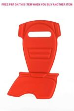 "OK BABY REPLACEMENT SEAT PAD FOR ""ORION"" MODEL BABY/CHILD BIKE SEAT RED OKB445"