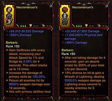 Diablo 3 RoS XBOX ONE [SOFTCORE] - Primal Modded Necromancer Ring Bundle