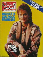 CIAO 2001 11 1983 Frida Todd Rundgren Clash Echo Bunnymen Decibel Franca Rame