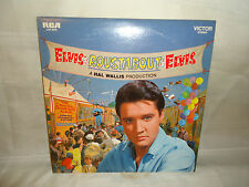 OLD RECORD - ELVIS ROUSTABOUT - THE ORIGINAL SOUNDTRACK ALBUM PARMOUNT ROUSTBOUT