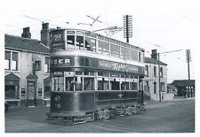 Yorks LEEDS Thwaitegate Crooked Billet Trams #18 c1950s? Photograph Packer